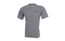 The North Face Men's S/S Reaxion Crew heather grey